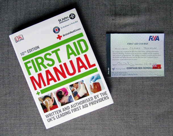RYA First Aid Course
