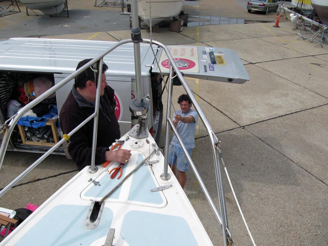 Lower Mast Hurley 22