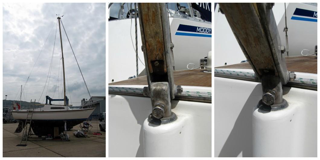 Hurley 22 Mast Rake Weather Helm