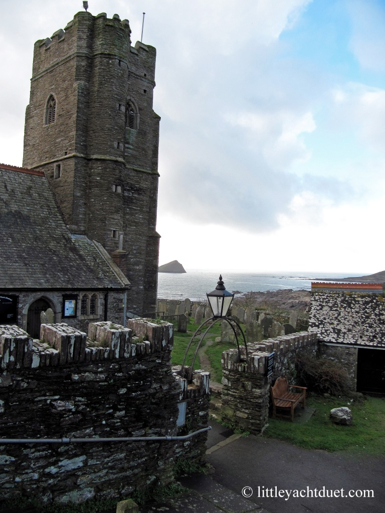 Wembury Church and Beach